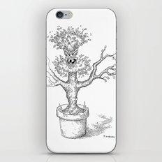 Toothy Tree iPhone & iPod Skin