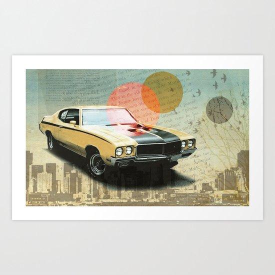 Buick Gran Art Print