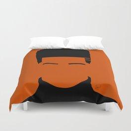 autumn orange Duvet Cover