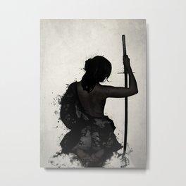 Female Samurai - Onna Bugeisha Metal Print