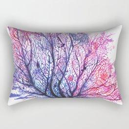 Fan Coral - Purple Rectangular Pillow