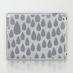 Grey drops Laptop & iPad Skin