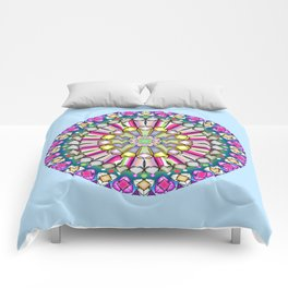 Geometric GG Comforters