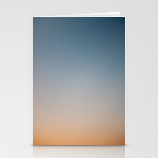 Sunset Gradient 1 Stationery Cards