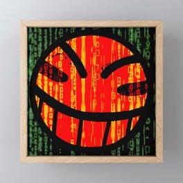 Cowboy Bebop Hacked Smile Framed Mini Art Print