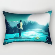 Lost in the Moment Rectangular Pillow