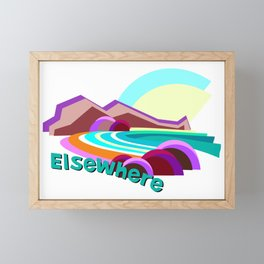 Elsewhere Island Framed Mini Art Print