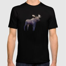 The Moose MEDIUM Mens Fitted Tee Black