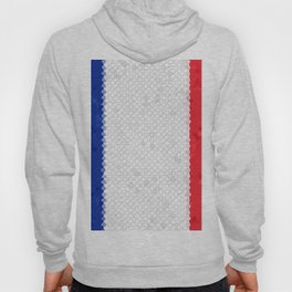 France Flag Mosaic Hoody