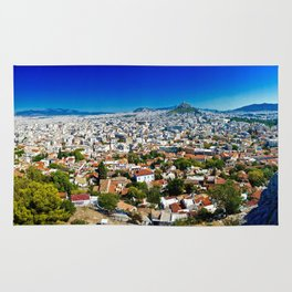 Athens Cityscape Rug
