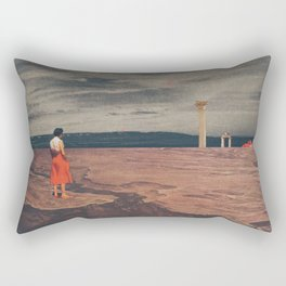 Across The History Rectangular Pillow