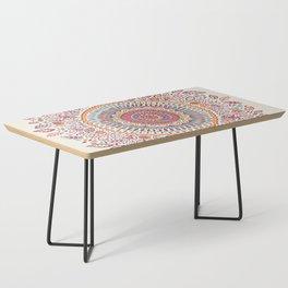 Sunflower Mandala Coffee Table