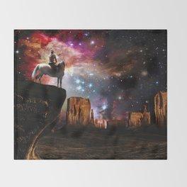 Native American Universe Throw Blanket