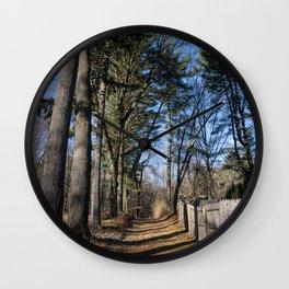 High Trees Wall Clock