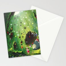 Totoro Christmas Stationery Cards