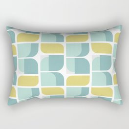 vintage norwegian design Rectangular Pillow