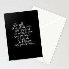 Be Soft Stationery Cards