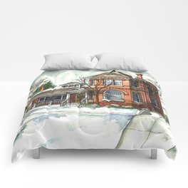 Victorian House in The Avenues Comforters