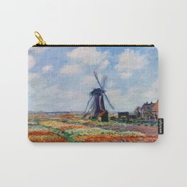 Claude Monet Tulip Field In Holland Carry-All Pouch