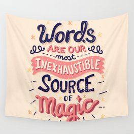 Source of Magic Wall Tapestry