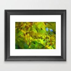 Autumn Vision Framed Art Print