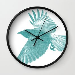 Corbeau  Wall Clock