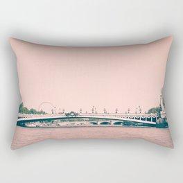 Paris, pont Alexandre III Rectangular Pillow