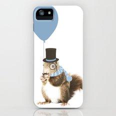 party squirrel iPhone (5, 5s) Slim Case