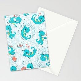 Baby Nessy   White Stationery Cards