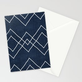 Nudo in Navy Stationery Cards