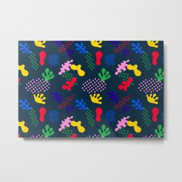 Abstract geometric pattern No2 Metal Print