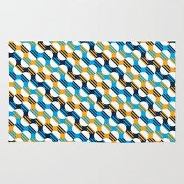 People's Flag of Milwaukee Mod Pattern Rug