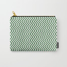 Canadian Wildlife Chevron Emerald Carry-All Pouch