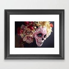 April Blossom Detail Framed Art Print
