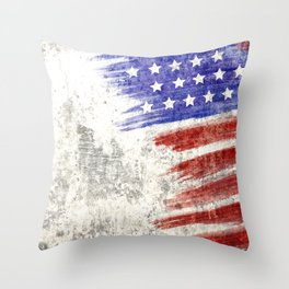 American Veterans Day Throw Pillow