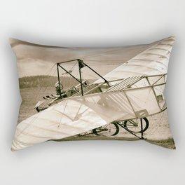 Old Airplane Rectangular Pillow