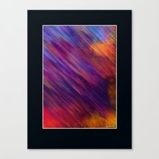 Interaction of Colors Digital Painting Canvas Print