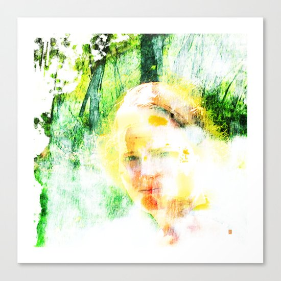 Miss. Sunshine  Canvas Print