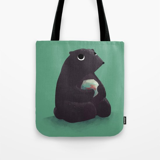 Goldfish makes the best company Tote Bag
