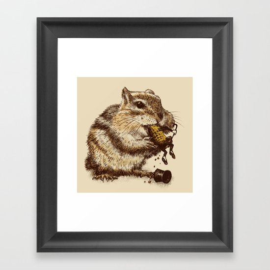 Occupational Hazard  Framed Art Print