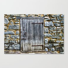 Door at the Mill Canvas Print