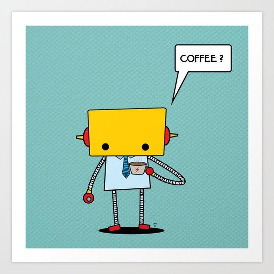 coffee? Art Print