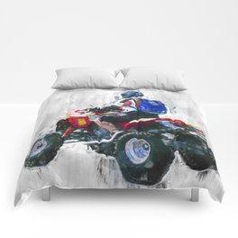 Quad racing Comforters