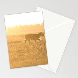 Exploring the Fields Stationery Cards