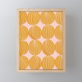 Abstraction_PATTERN_NATURE_001 Framed Mini Art Print