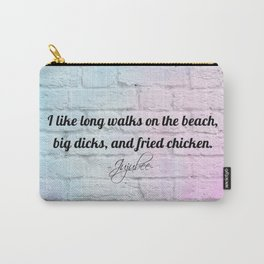 Drag queens | Drag | Juju | Bee | Ru | Paul | Trans | Pan | Drag queen quotes Carry-All Pouch