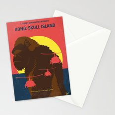 No799 My SKULL ISLAND minimal movie poster Stationery Cards