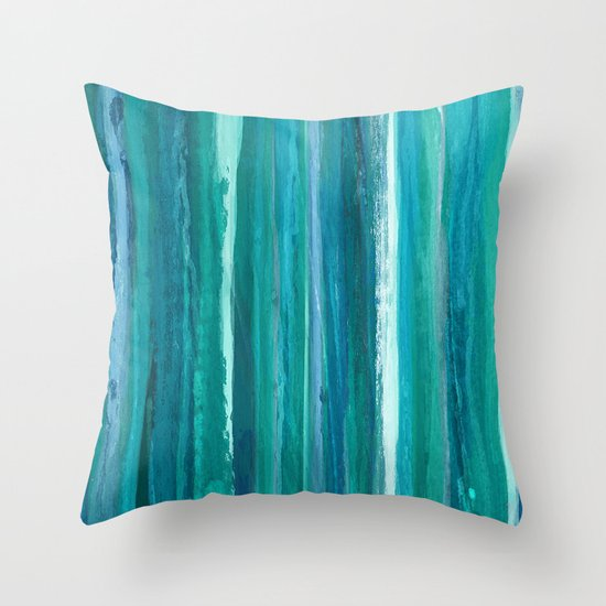 Drip Throw Pillow
