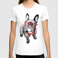 T-shirts featuring Happy Dog by 13 Styx