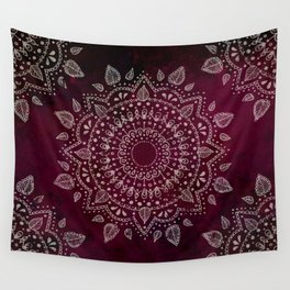 Wine Mandala Wall Tapestry